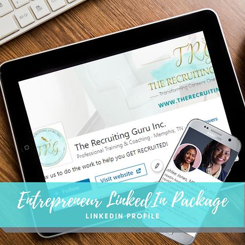 Entrepreneur LinkedIn Package Bundle