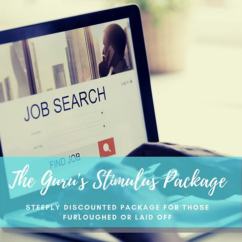 The Guru's Stimulus Package ( Resume, LinkedIn,& Job Search Strategy)