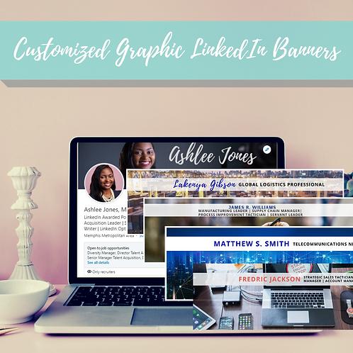 Customized Graphic LinkedIn Banner