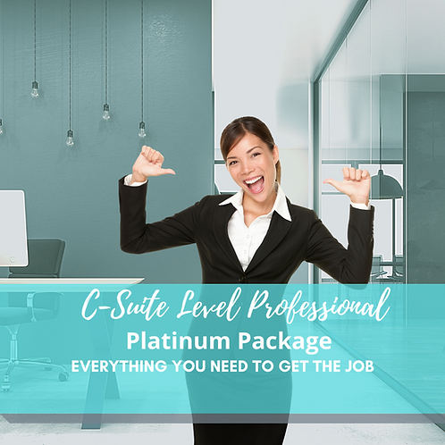 Ultimate Job Search Platinum Package: Everything you need to get the job!