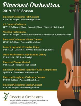 Click here for the Pinecrest Orchestras portfolio