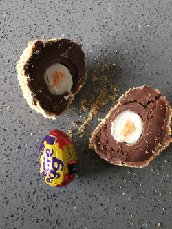 Creme Egg Scotch Egg