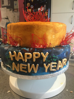 New Year Cake (Chocolate)