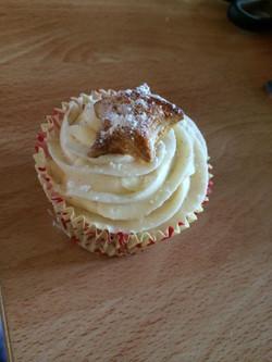 Mince Pie Cupcake