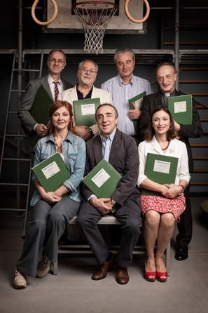Silvio Orlando, Marina Massironi, Vittorio Ciorcalo, Roberto Citran, Antonio Petrocelli, Maria Laura Rondanini, La Scuola