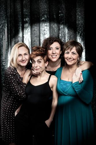 Claudia Penoni, Rita Pelusio, Alessandra Faiella, Margherita Antonelli, Comedians