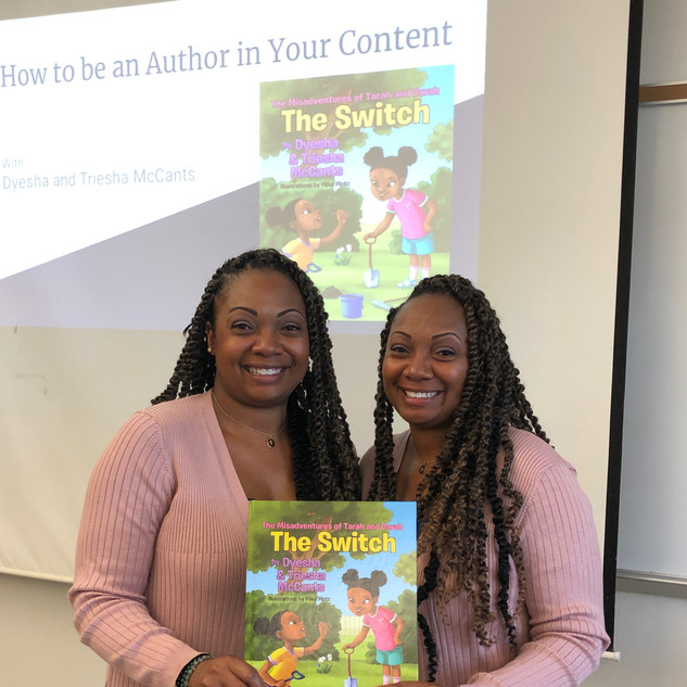 How to be an Author In Your Content-Prince George's County Public Schools Professional Development