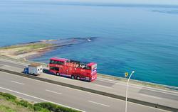 新北天窗景觀巴士「金包里號」換彩繪新裝 (圖)
