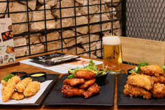 Beer and Fried Chickens