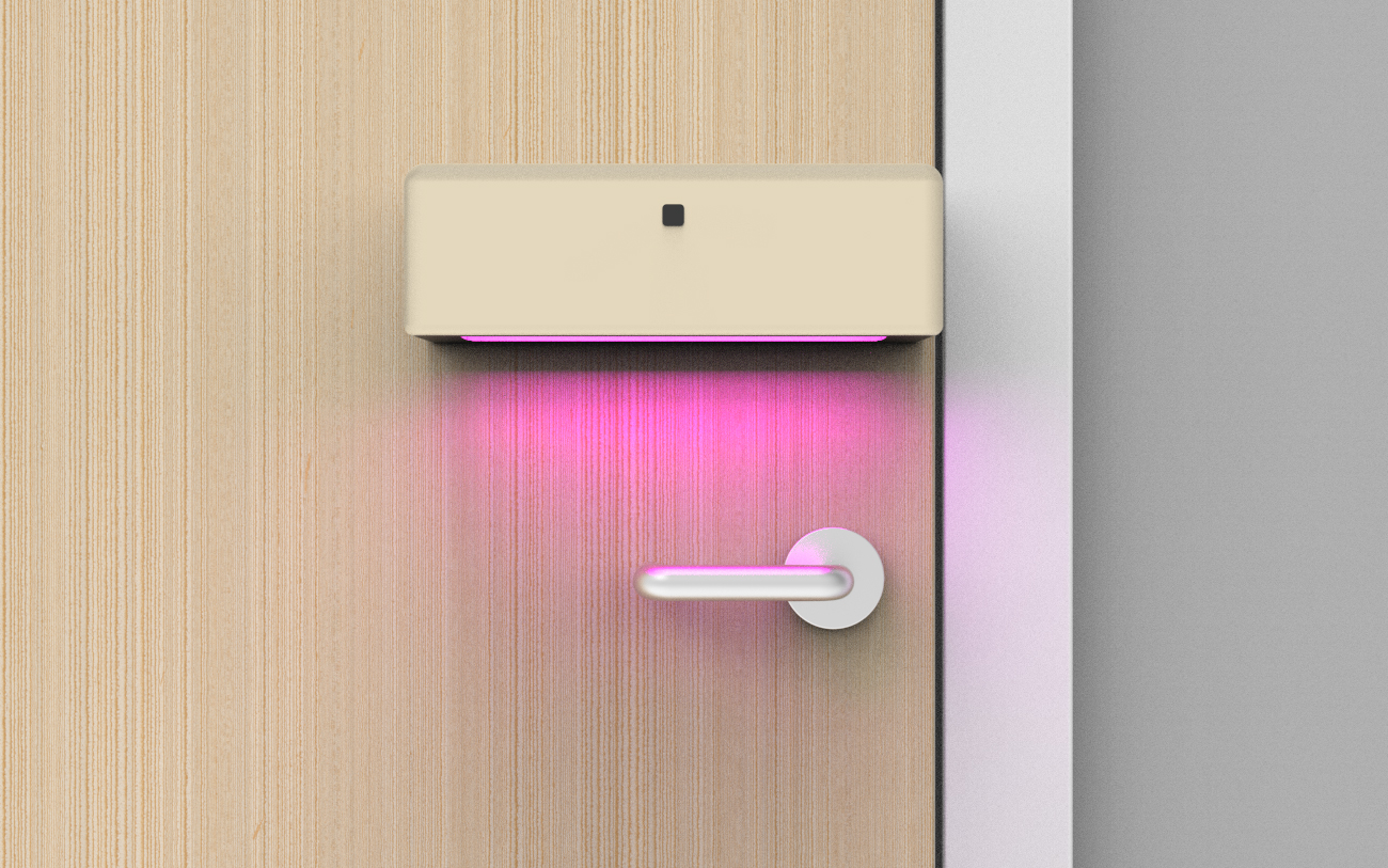 UV-C Door Handle