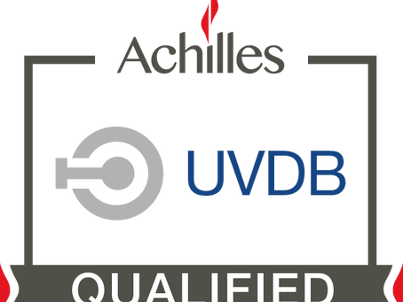 Company now UVDB Qualified