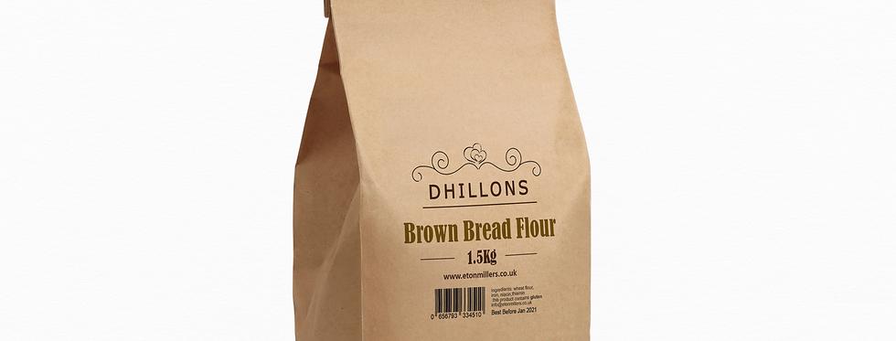 Dhillons Brown Bread Flour 1.5kg