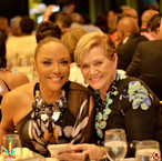 Lynn Whitfield and guest