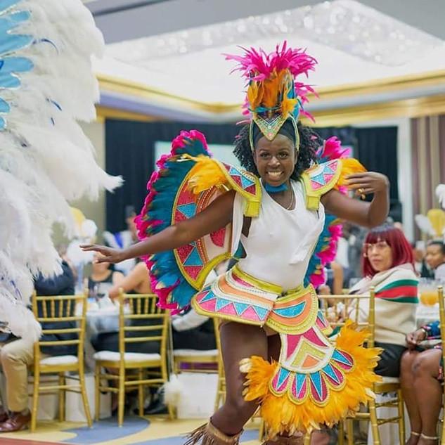 Bahamas Junkanoo Dancer