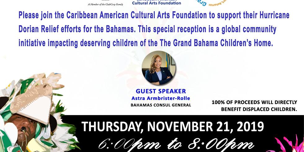 Bahamas Relief Reception