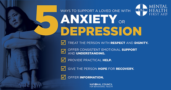 MHFA Supporting Loved Ones with Anxiety
