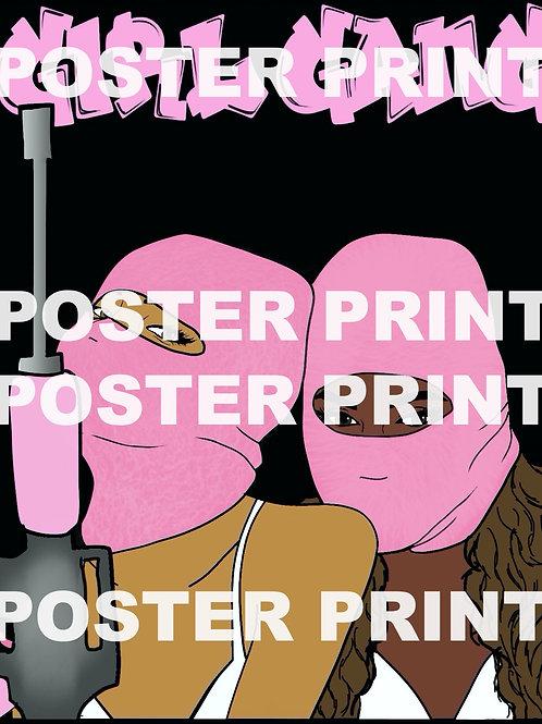 Girl Gang Poster Print
