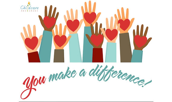 This video thanks school volunteers. It shows photos of volunteers.