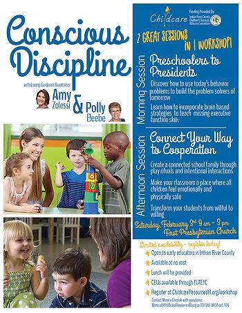 Conscious Discipline February 2018