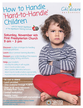 """How to Handle """"Hard-to-Handle"""" Children"""