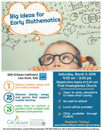 Big Ideas for Early Mathematics