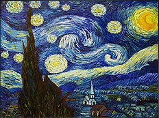 Van Gogh's painting 'Starry Night'