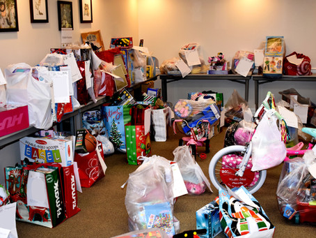 Local businesses make holidays a bit brighter through Childcare Resources wish list program