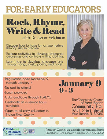 Rock, Rhyme, Write, and Read