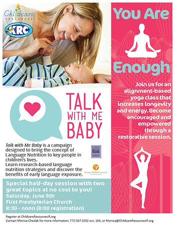 Talk With Me Baby & Yoga