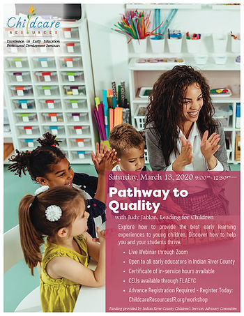 Pathway to Quality