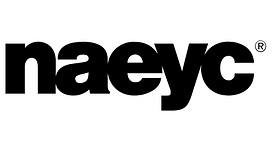 The acronym 'NAEYC' in black