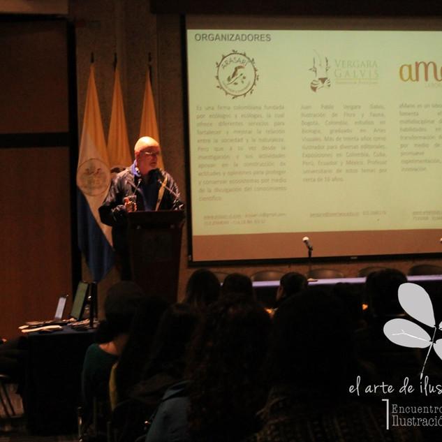 Palabras de Juan Pablo Vergara-Galvis
