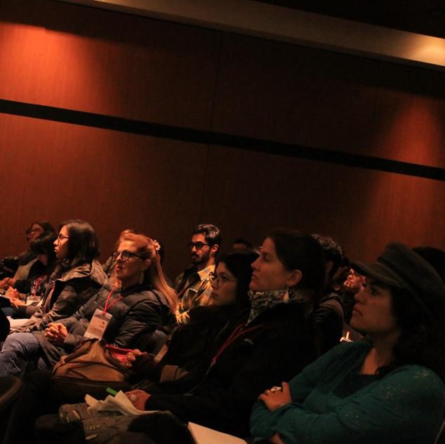 """Charlas durante I. Encuentro de Ilustración Científica """"El Arte de Ilustrar la Ciencia""""."""