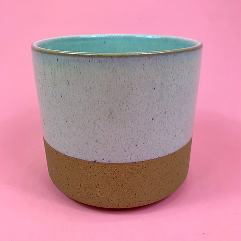 White Speckle Pot