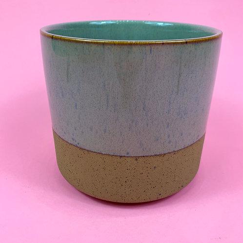 Olive Speckle Pot