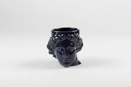 Navy Apollo Head Mug