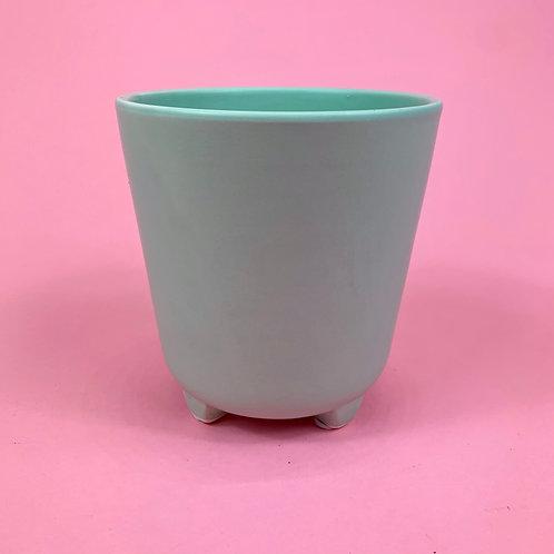 Mint Foot Pot