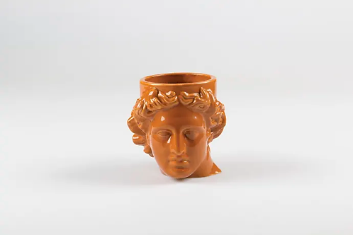 Terracotta Apollo Head Mug