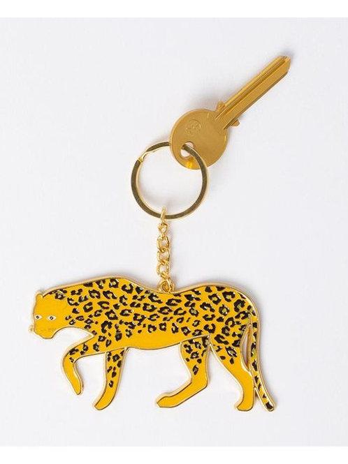 Oversized Leopard Keyring