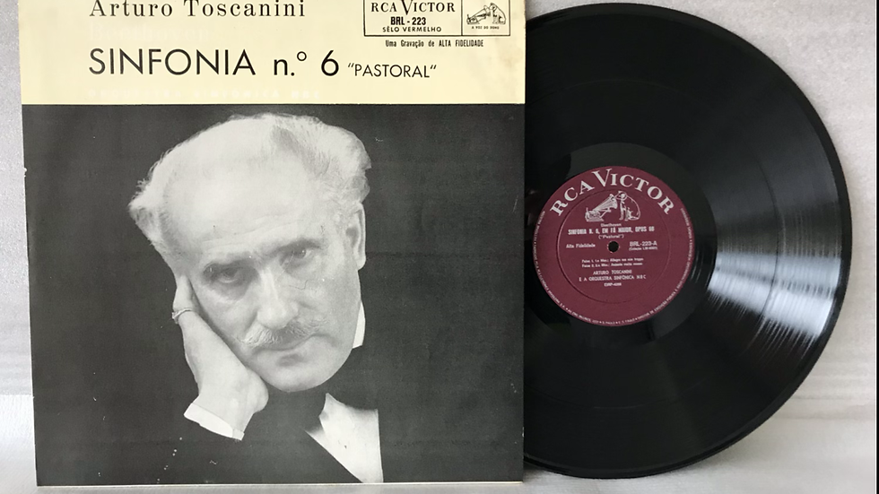 Lp Arturo Toscanini - Beethoven Sinfonia N° 6 - Excelente