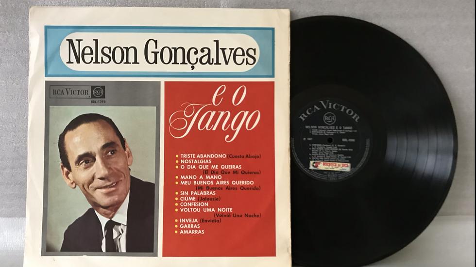 Lp Nelson Gonçalves - E o Tango - Original Mono - 1967