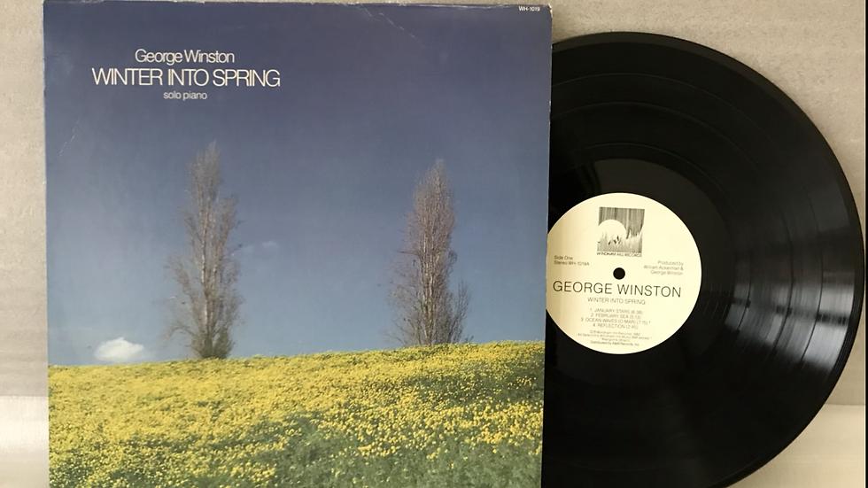 Lp George Winston - Winter Into Spring - Importado -Excelente