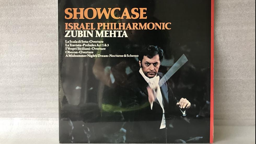 Lp Zubin Mehta - Israel Philharmonic - Showcase - Novo Lacrado - 1978