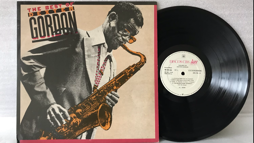Lp Dexter Gordon - The Best Of Dexter Gordon - Excelente