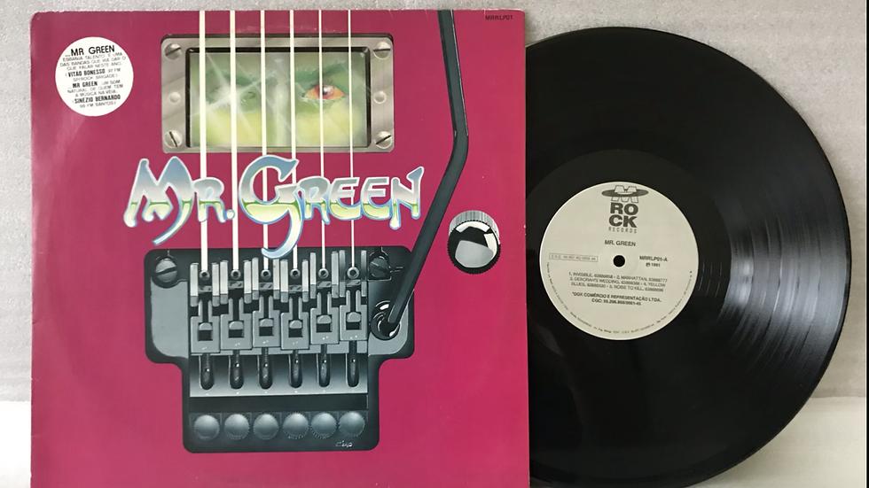 Lp Mr Green - Invisible - Excelente - Encarte - 1991