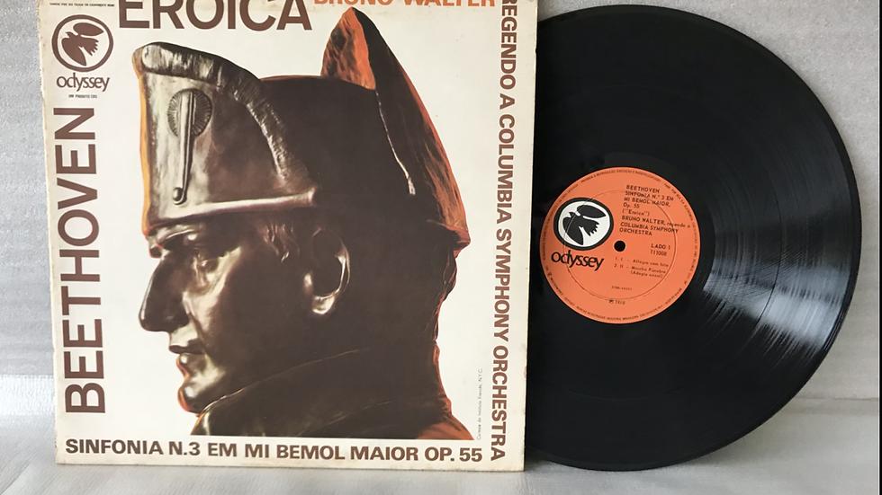 Lp Bruno Walter - Beethoven Sinfonia N°3 - Eroica - Excelente - 1970