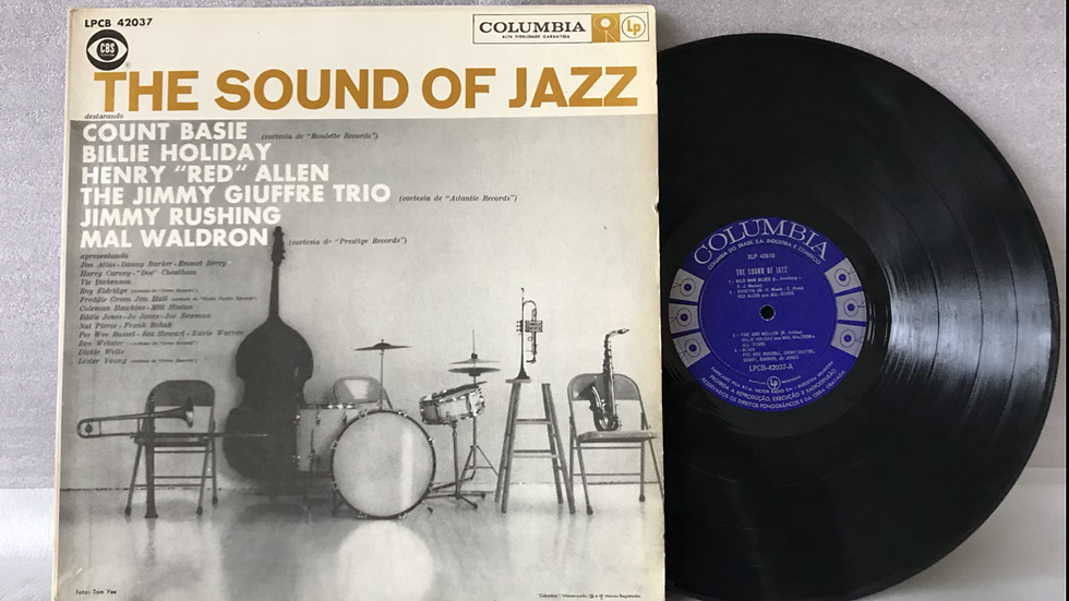 Lp The Sound of Jazz - Countie Basie - Billie Holiday - Original Columbia