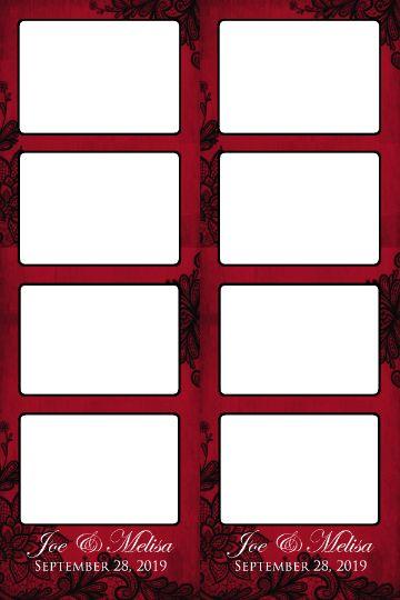 JOE MELISA black n red with squares