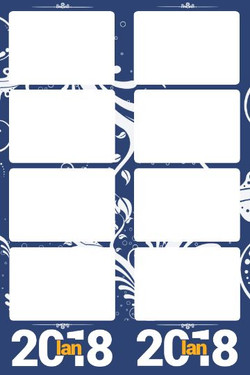 navy blue design