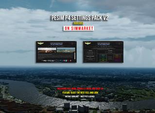 PESIM P4 Settings Pack version 2 available !